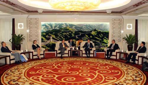 Professor Ronald J. Allen at the Supreme People's Court, Beijing, China